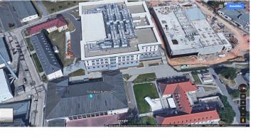 Shali-Center,Wiesbaden, daneben rechts CIC